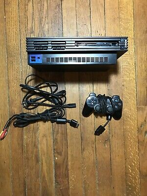 Sony PS2 Playstation 2 Fat Model SCPH-39001 W/ Controller Power & A/V TESTED