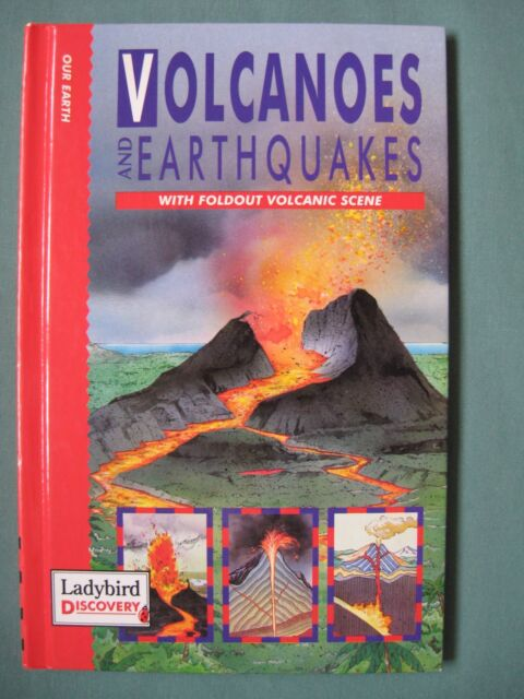 Ladybird Discovery Volcanoes and Earthquakes ISBN 0721417442 good condition