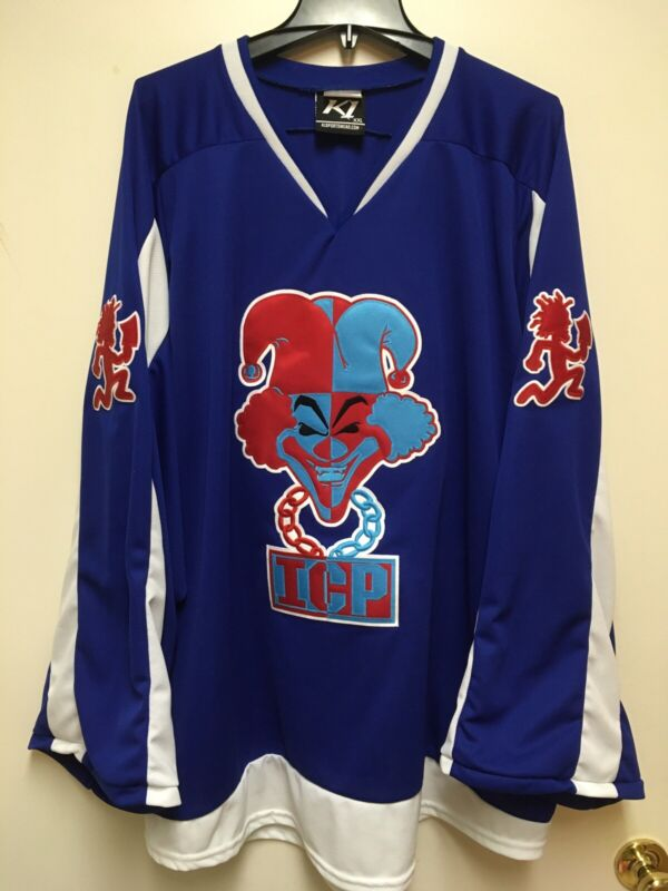 ICP COC CARNIVAL OF CARNAGE HOCKEY JERSEY 2X XXL INSANE CLOWN POSSE JUGGALO RARE