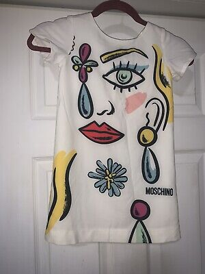 Authentic Moschino Girls Dress Size 6
