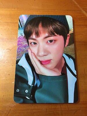 BTS Bangtan Boys You Never Walk Alone Spring Day Jin Photo Card K-POP(50(