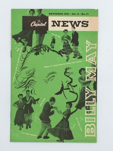 1951 Capitol News Hollywood Magazine Marilyn Monroe Dean Martin Judy Garland