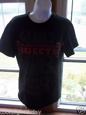 ALL AMERICAN REJECTS 2009 BATTLE OF THE BANDS TOUR CONCERT SHIRT SZ ADULT SMALL All American Rejects Apparel