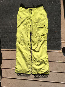 Woman's Small Orage Snowpants