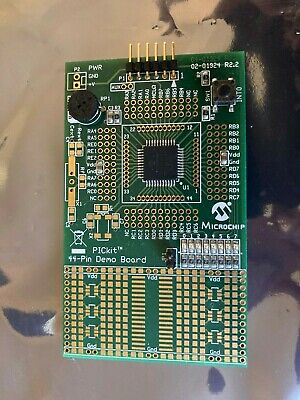 Pickit 44-pin Demo Board - Pickit 3 Debug Express Board - Pic18f25k20 - Usa Ship