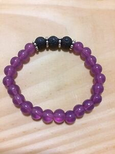 Aromatherapy Essential Oil Bracelets with Lava rock London Ontario image 5