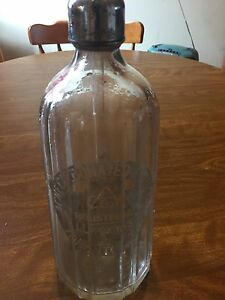 Vintage Acme soda seltzer bottle