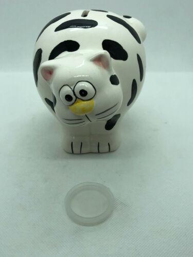 Fat Cat Piggy Bank