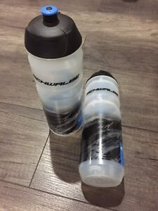 New Schwalbe Bicycles Sports Drink Bottle 750ml Transparent Road
