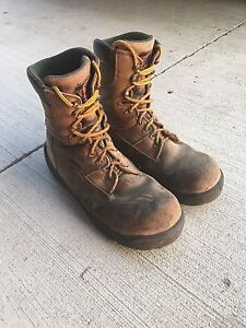 Red  Wing waterproof steel toe boots