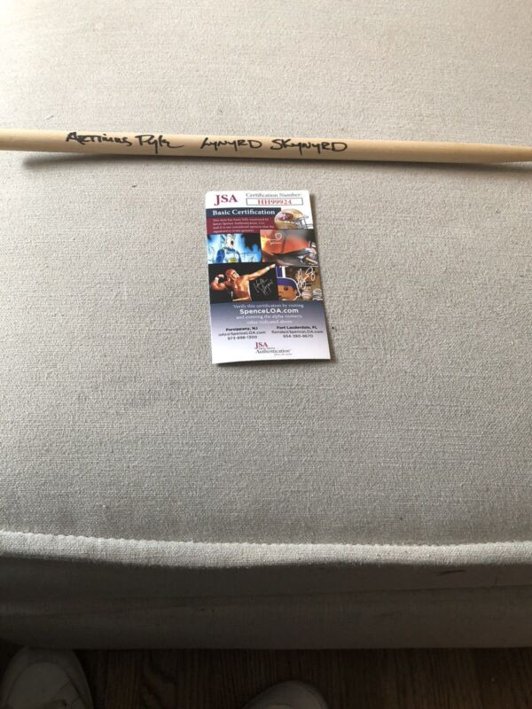 Autographed Artimus Pyle Drum Stick JSA Certified Signed Imsc Lynyrd Skynyrd