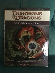 Fourth edition Dungeon Masters Guide 20$