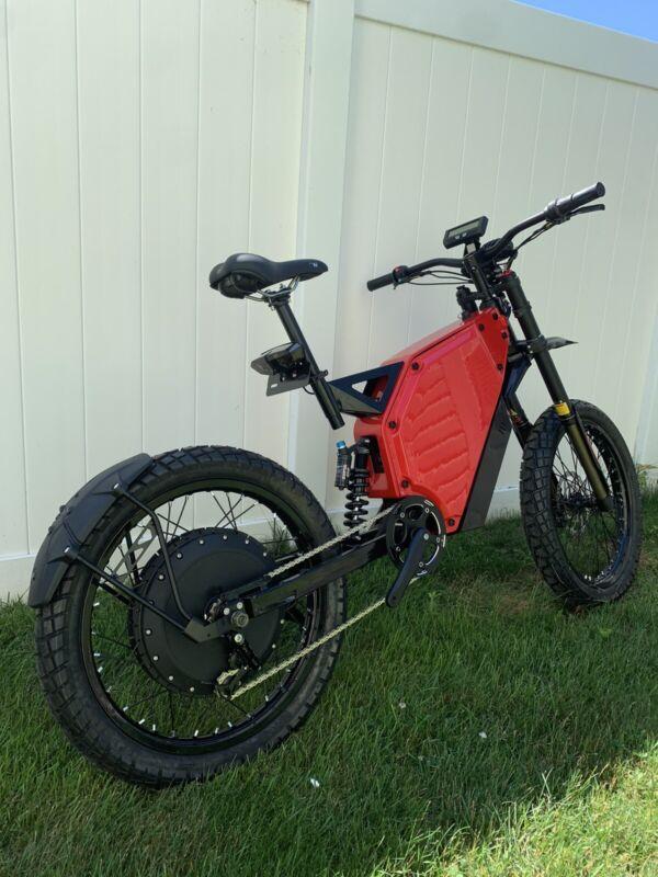 Fast 65+ MPH!! Electric Dirtbike Ebike Mountain Bike Enduro Bomber
