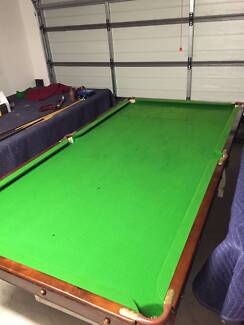 Slate 8x4 Pool Table - VGC - Includes gear + delivery* Forest Glen Maroochydore Area Preview