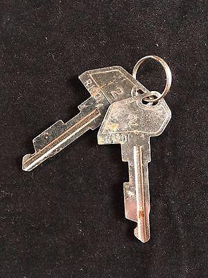 Tec Cash Register 2 Key R1201 Set Of 2