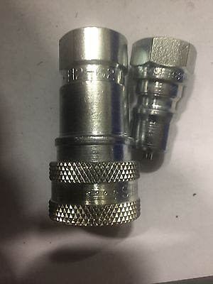Parker Hydraulic Fittings 1 H2-62 And 1 H2-63 For One Money E3l3