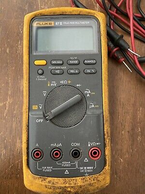 Fluke 87v Multimeter With Leads