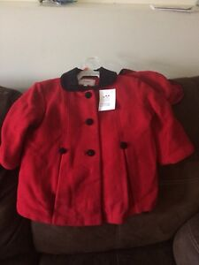 2T Girls Coat and Hat