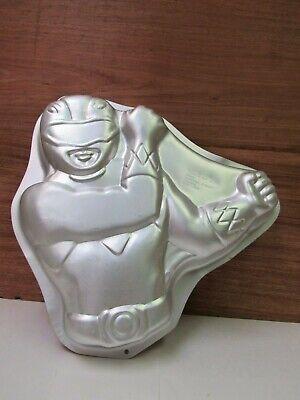 Vintage 1994 Saban Mighty Morphin Power Rangers Wilton Aluminum Cartoon Cake Pan](Power Ranger Cake Pan)