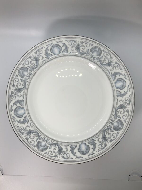 Wedgwood Dolphins White Luncheon Salad Plates R4652