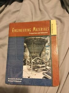 Engineering Materials: properties and selections