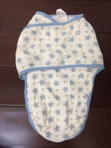 Aden & Anais small 0-3 month muslin swaddle