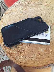 Wallet & iPhone 5 Case In One