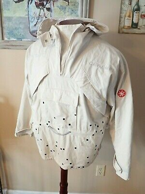 cav empt Pullover Hooded Long Sleeve Mesh Lined Jacket Men's Size M SUPER RARE