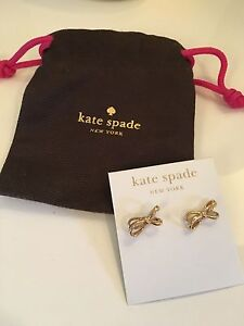 Kate spade gold earrings brand new Oakden Port Adelaide Area Preview
