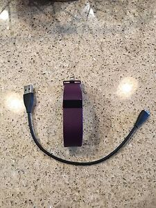 Purple Fitbit Charge HR
