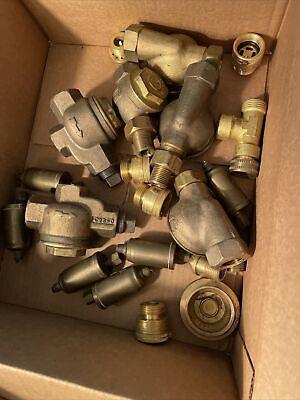 12 Lbs Pounds Brass Fittings Lot Barnes Other Plumbing Hvac New No Box