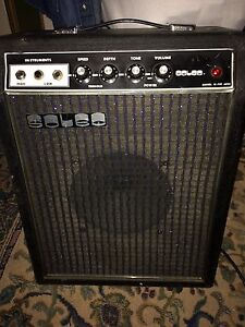 Vintage Guitar Amplifier Made in Japan SOLEC with tremolo