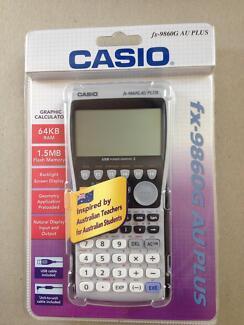 Casio fx-9860G AU PLUS graphic calculator