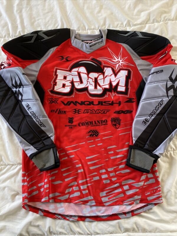 Empire Paintball Jersey Padded XL Team Boom - Fast Shipping! *NEW* #19