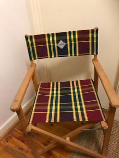 CANVAS DIRECTOR CHAIR IN EXCELLENT CONDITION