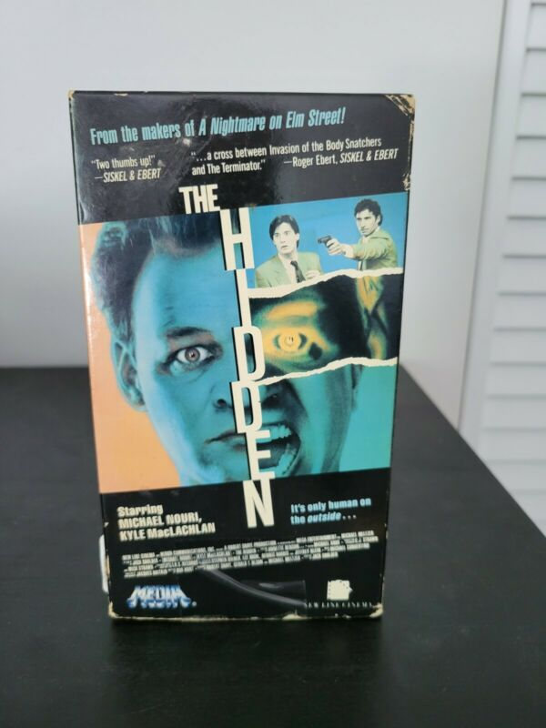 The Hidden 1987 VHS - Horror