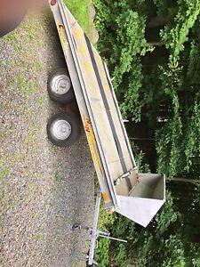 Trailer tandem 2 essieux