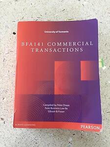 BFA141 Commercial Transactions Blackmans Bay Kingborough Area Preview