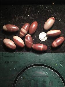 """10pcs 1"""" Wholesale Shiva Lingam Bulk Shiva Lingham Stones Crystals"""