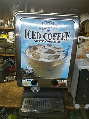 International Delight Commercial Refrigerated Iced Coffee Dispenser Model 225