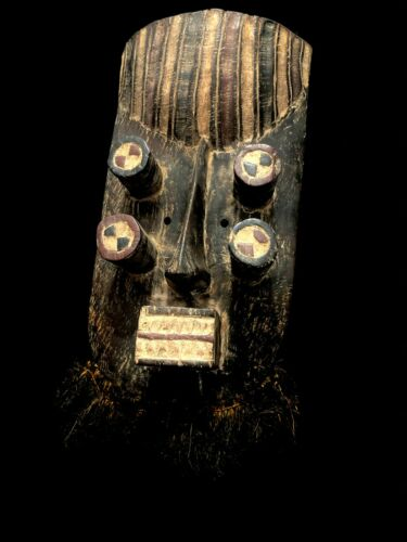 Mask - Feathers, Wood - GREBO - Liberia (2089)