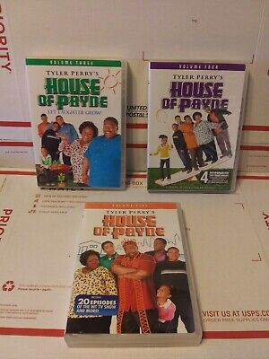 Tyler Perrys House of Payne - Volumes 3 4 5 [3 DVD's Complete] Free S&H! Used