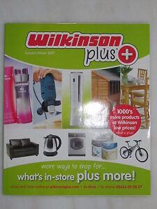 Wilkinson plus catalogue autumn winter 2007 wilko home diy for Bureau plus catalogue