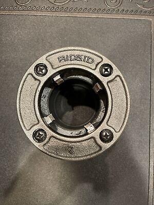 Ridgid 12-r Pipe Threader 2 Die Head Excellent Condition