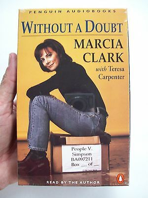 Without A Doubt By Marcia Clark And Teresa Carpenter  1997  Audio Cassettes  New