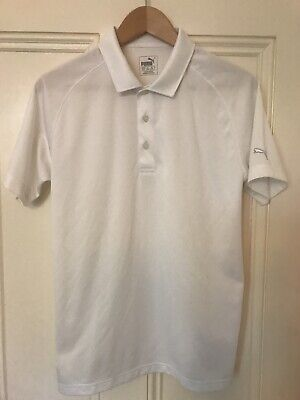 Puma Golf Polo. Men's White. Size XS