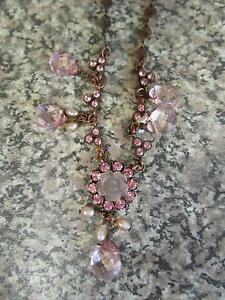 Pink Gem Necklace ***BRAND NEW*** Campbell North Canberra Preview