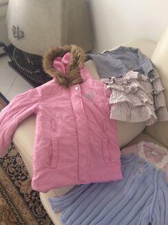 Girls size 3 winter clothing bulk lot