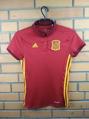 0bc35fedcc0 Spain soccer women jersey 2XS 2016 home shirt B48982 football Adidas
