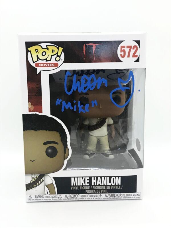 Chosen Jacobs Autograph FUNKO POP IT MIKE HANLON SIGNED JSA COA